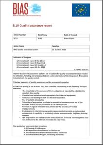 QA report